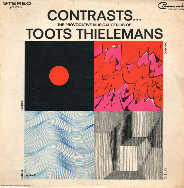 c86:  ContrastsThe Provocative Musical Genius Of Toots Thielemans And His Orchestra1966 via Unearthed In The Atomic Attic