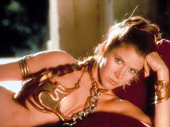 It's official! Carrie Fisher has confirmed she will appear in the new movie of the Star Wars franchise. The real question is, will she rock the Gold Bikini one more time?