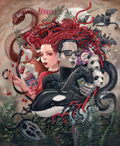 Licorice by jasinski - Follow @garabatweet and Garabating on Facebook -