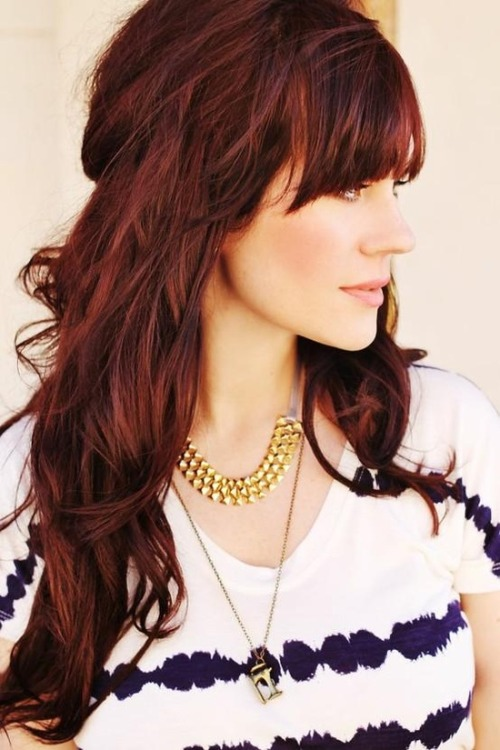 Gorgeous, rich hair color…