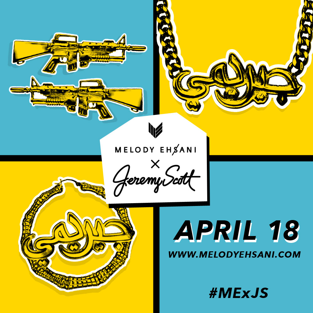M.E. x J.S. COLLAB DROPS THIS THURSDAY! www.melodyehsani.com