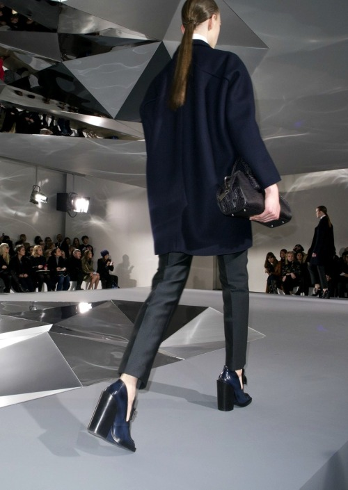 simulated:  Jil Sander f/w 2013, photographed by Olivier Zahm.