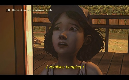 undertheseapunk:  detrea:  oh god what have I done I'm so sorry  clementine will remember that