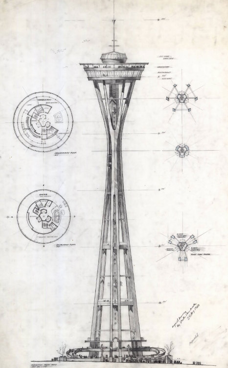 n-architektur:  Space Needle John Graham & Company