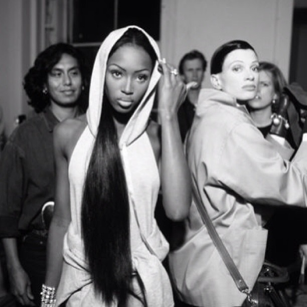 Looks just like a Barbie! #naomicampbell @iamnaomicampbell #7daysofnc x3