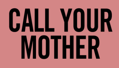nevver:  Call Your Mother