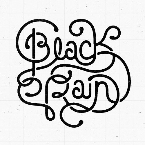 Typeverything.com Black Rain by Pavlov Visuals.