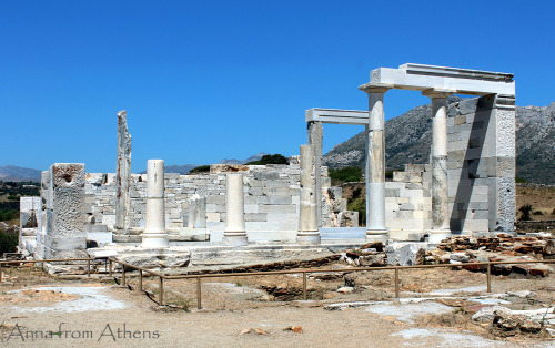 annafromathens:  Temple of Demeter, Naxos, Greece