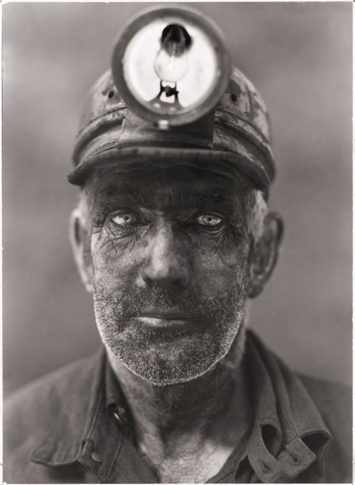 natgeofound:  A close-up portrait of a coal miner in Omar, West Virginia, 1938.Photograph by B. Anthony Stewart, National Geographic