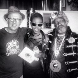 Rodigan, Me & Lee Scratch Perry #tbt 😍