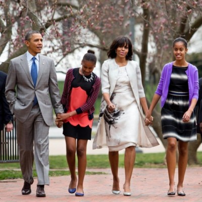 President Obama,The First Lady and the First Family on Easter…
