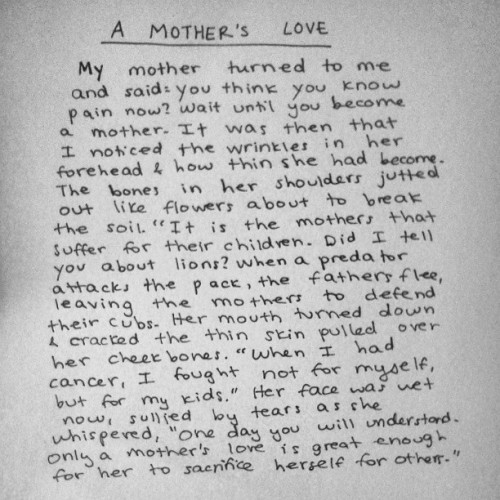 conor-broberst:  Celebrate the strength of your mother today.