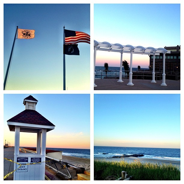 Memorial Day Weekend is almost here in Long Branch  #seenonmyrun  #jerseyshore #restoretheshore #runfree