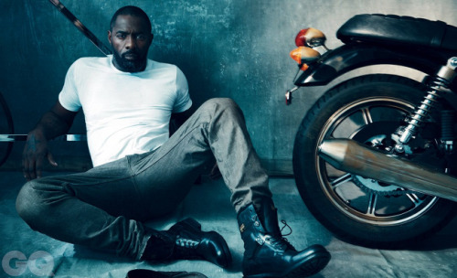 Idris Elba Photographed by Norman Jean Roy for GQ UK (March 2013)