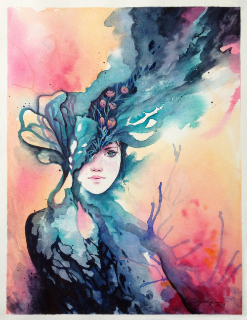 illustratosphere:  Coral by Adelenta