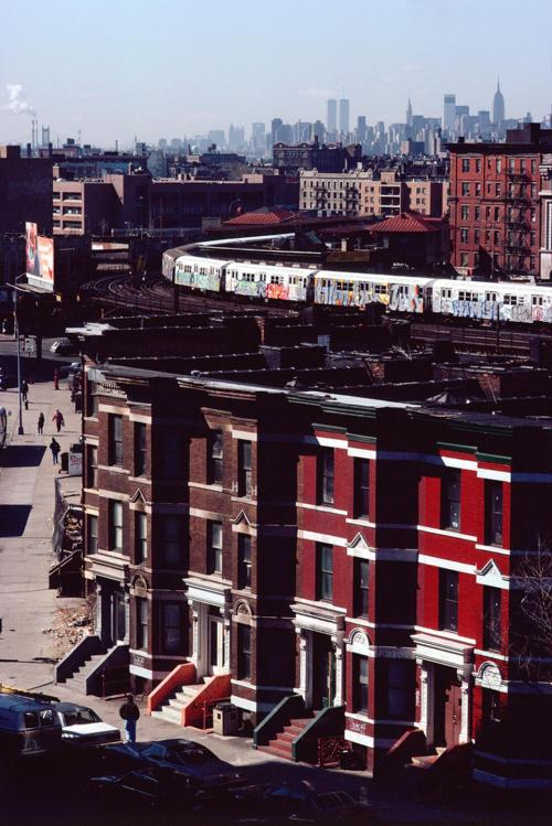 wandrlust:  View South from Simpson Ave., South Bronx, 1989 — Camilo José Vergara   BX