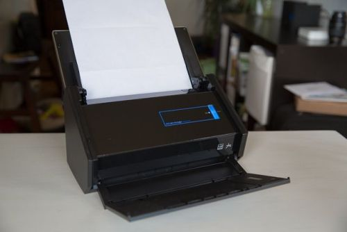 The iX500 Scanner Sends Your Digitized Docs To Your Mac or iDevice [Review] Erfon Elijah, cultofmac.com Read our full Reviews archiveOnce I start­ed my review of the ScanSnap iX500 doc­u­ment scan­ner, the new model in Fujit­su's huge­ly pop­u­lar line of top-tier ScanSnap scan­ners, it didn't take long to see this machine was going to earn its…  I love my ScanSnap. Great product.