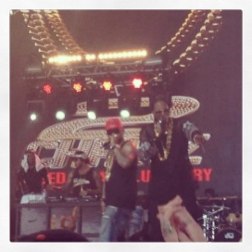 Best birthday!! Saw #2chainz live & he sang me Birthday Song (at Mojave Stage)