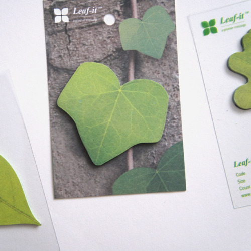Leaf-its… Picked up a gang of 'em in 3 different shapes. Nab a St. Patrick Edition Rad Bag and you just might score one!   (photo RAH)