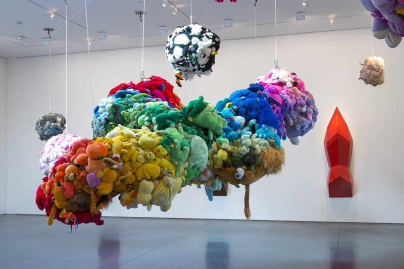 Mike Kelley Deodorized Central Mass with Satellites at Perry Rubenstein Gallery