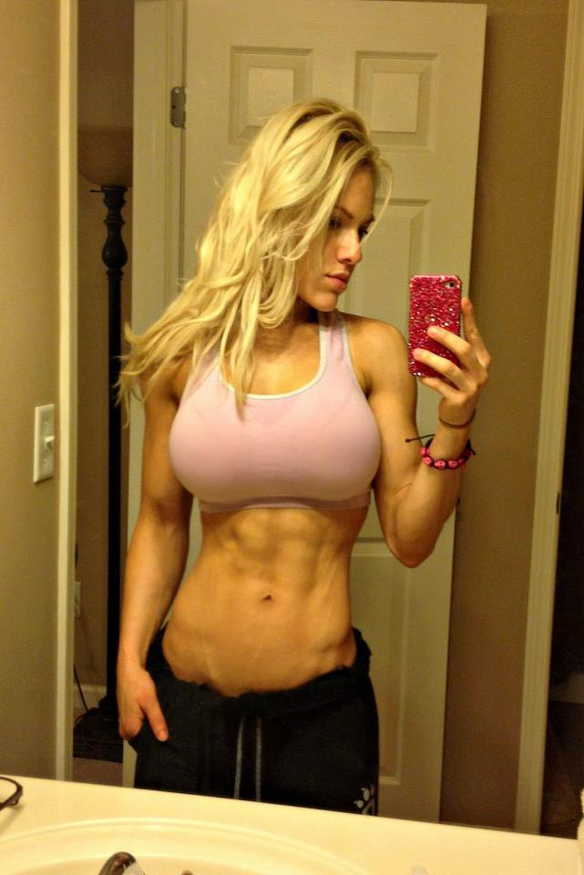 strongangels:  Blonde beauty Jessica Valencia.