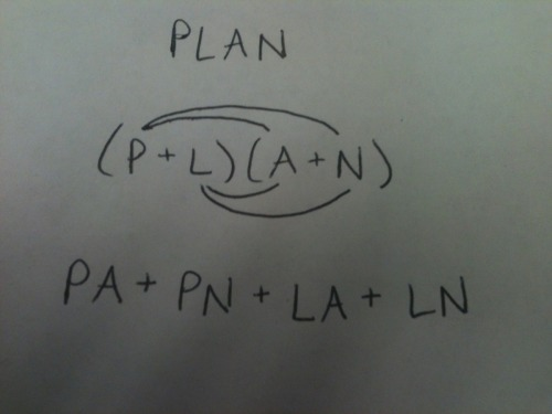 the-absolute-best-posts:  Your plan has now been foiled. MWAHAHA MATH HUMOR IS THE BEST. This post has been featured on a 1000notes.com blog.