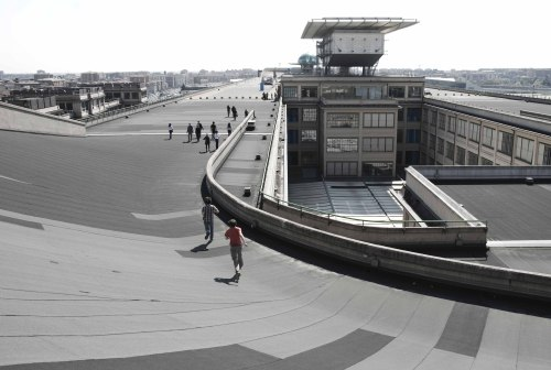 tulipwoodacer:  lingotto's test track days are over, but it still lives