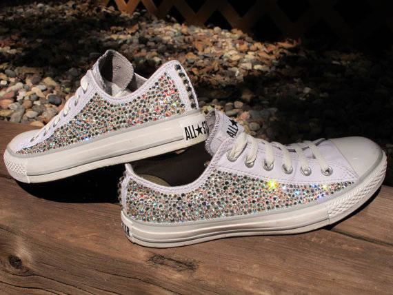 Swarovski Crystal Converse All Stars #Lockerz