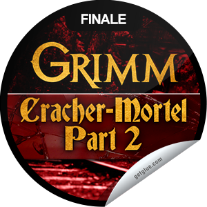 I just unlocked the Grimm: Goodnight, Sweet Grimm sticker on GetGlue                      7231 others have also unlocked the Grimm: Goodnight, Sweet Grimm sticker on GetGlue.com                  Can Monroe and Rosalee aid Nick in his investigation into the attacks involving the 'undead' in Portland? Thanks for tuning in to the season 2 finale of Grimm tonight! Share this one proudly. It's from our friends at NBC.
