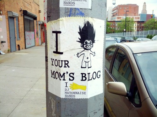 I troll your mom's blog – View on Path.