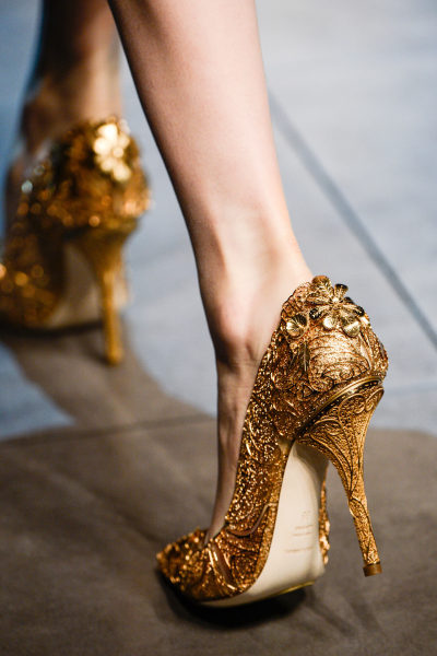 thepale:  fashioninquality:  Shoe Porn at Dolce & Gabbana Fall Winter 2013 | MFW  this is just unbelievable. i never really liked Dolce & Gabbana, but this last collection blew my mind. it was absolutely incredible  These are fucking beautiful.