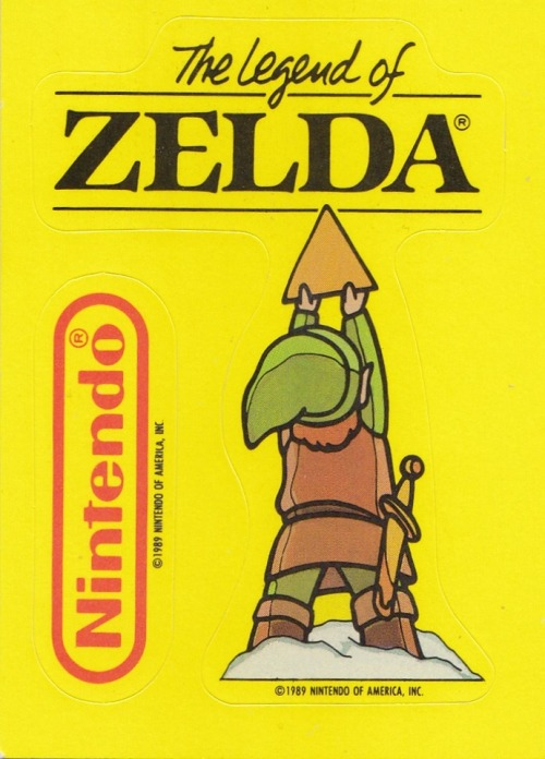 vgjunk:  The Legend of Zelda sticker.