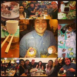 Thank you guys for the bday surprise!!! I love you all<3 #Bdaysurprise #22life #Flippers #Friends5ever #Flippers8yearsstrong #cantlivewithoutthem #surprisetoseeeveryonealltogether @moniqueanne @gin3yn3y @lilmizlynne @abbbbyr @luvishelevy @tee_rish @gabbyngarcia @jkidd @jceecueto @dansqrd @lorit0 @Peterm2316 (at Shogun Sushi)