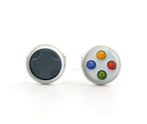 Cufflinks any gamer would be honored to wear