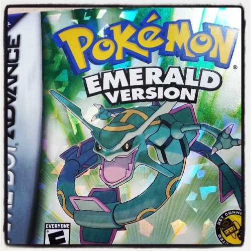 This is what I should play on relaxing times #pokemon #emerald