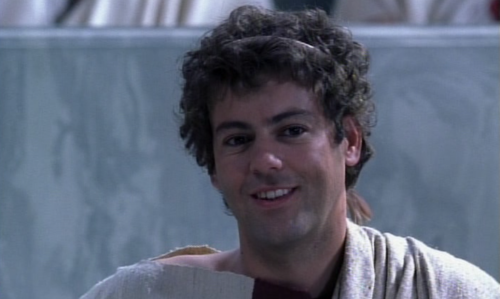 notluvulongtime:  Watching Rupert Graves in Cleopatra. Hated the acting and script prior to his appearance. But now that he's on the screen, I suddenly have more patience. The Power of Rupert Graves - it soothes the savage former script analyst.