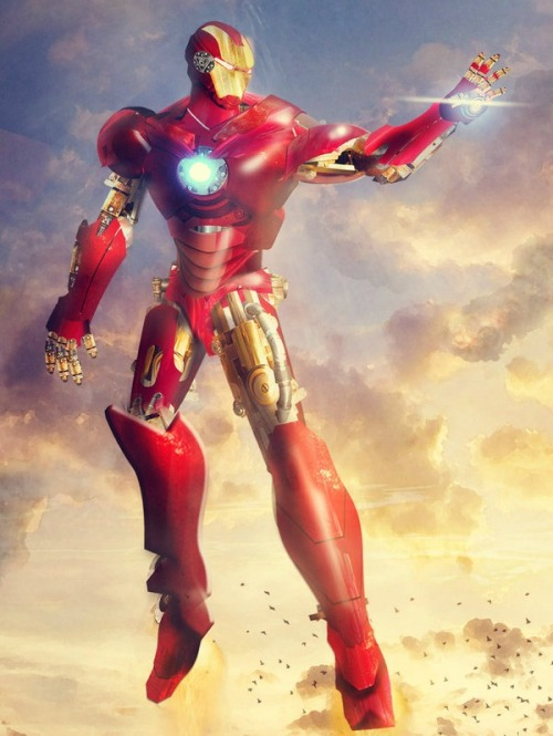 youngjusticer:  What a goodass movie. That ending. :') Iron Man, by Jing Roxes.