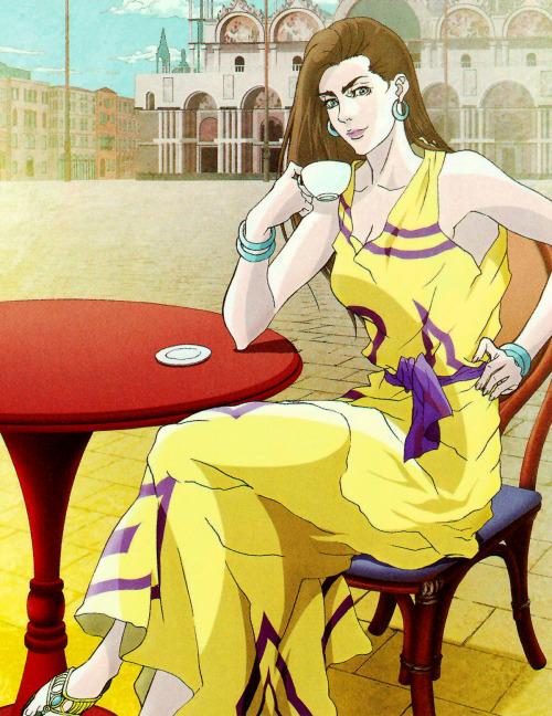 highdio:Araki on Lisa Lisa, Jojonium.