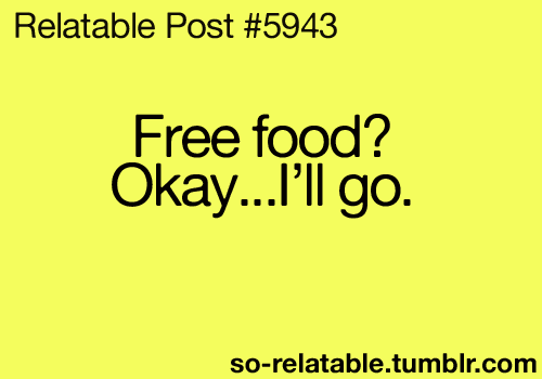 so-relatable:  Food is a deal breaker.
