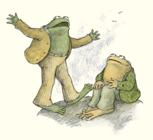 jaggedfragments:  Frog and Toad are friends.  Best book ever lol
