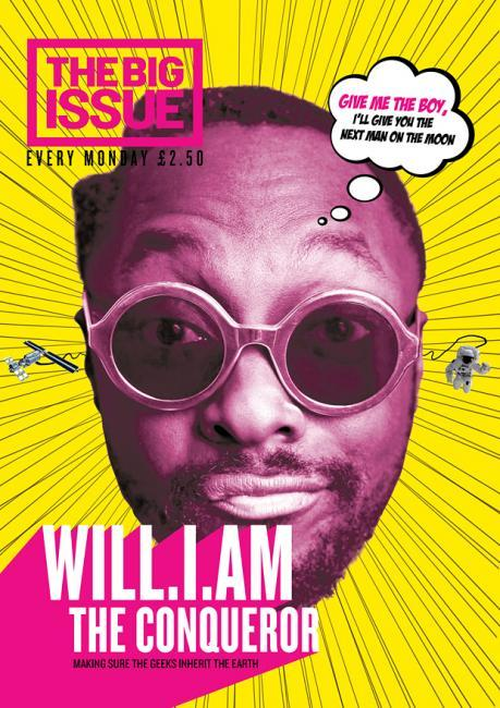 Will.i.am Covers The Big issue (UK)