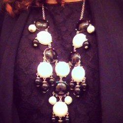 White N Black  #white #black #accessorize #jewelry #bubblenecklace #work #style #stylish #fashion #fashionista #fashionforward #womensstyle #womensfashion #trend #trendreport #trendsetter #spring #springtrends #tumblr #pinterest #instahub #instastyle #instadesign #instafashion