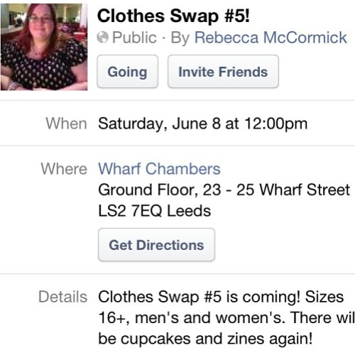 Its almost that time again! Plus Size Clothes Swap!!!! Join us :)