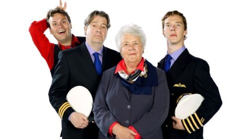 utherwasntallthatbad:  Radio 4's comedy series Cabin Pressure, featuring Benedict Cumberbatch and Roger Allam, has been nominated for best radio programme!!! The winners will be announced at an awards lunch in London on 14 March.   http://www.bbc.co.uk/news/entertainment-arts-21447194