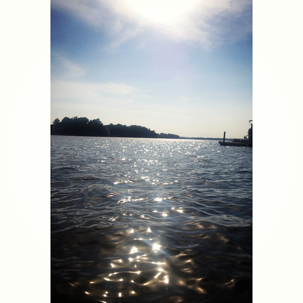 Lake day  (at Lake Norman )