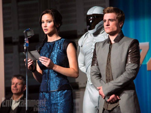 popculturebrain:  Another Hunger Games pic from EW