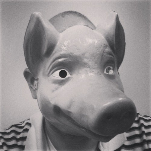 I'm a #pig when I wear this #mask