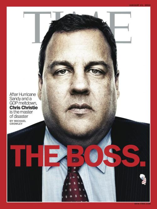 Time's new cover, dropping on FridayOn the cover: New Jersey governor Chris ChristieDesign director: D.W. Pine