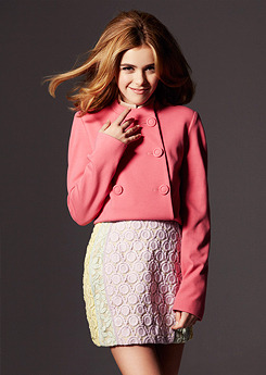 Kiernan Shipka photographed by Dawn DiCarlo for Zooey Magazine, Spring 2013 Issue.