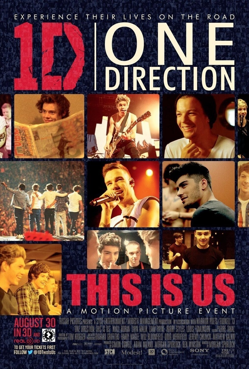 "The official ""this is us"" movie poster. 😁"